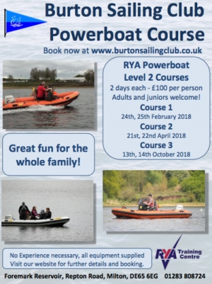 2018 Powerboat training courses now available to book online