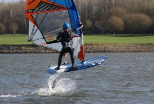 Windfoiling clinics at Burton Sailing Club
