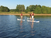 SUPs (Stand up Paddleboards) at Burton Sailing Club