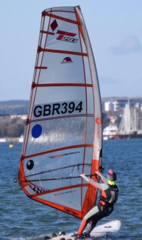 Windsurf Coaching sessions with Pro-Junior Techno and Youth RSX Coach, Ali Masters