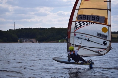 Windsurfing and Wind foiling at Burton Sailing Club