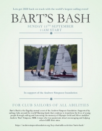 Bart's Bash at Burton Sailing Club