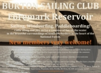 A warm welcome to Burton Sailing Club