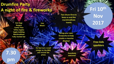 Drumfire and Firework Party